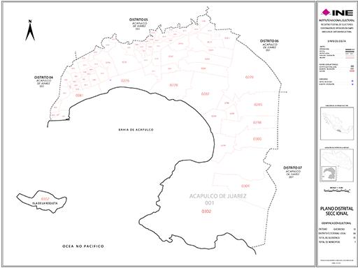 Mapa Distrito Electoral Local 03