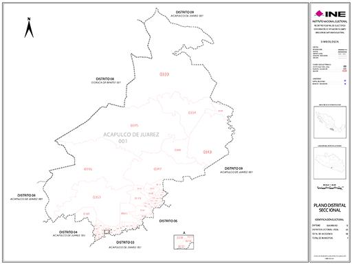 Mapa Distrito Electoral Local 05
